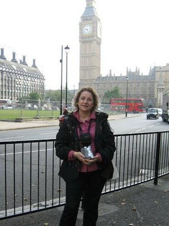Ирина Удилова в Лондоне (в круизе по северным столицам)