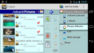 X-plore File Manager v3.03 for Android