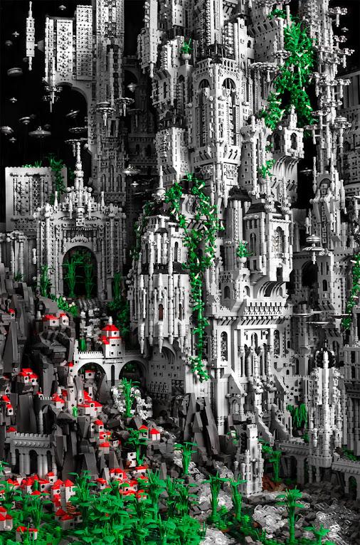 *樂高師Mike Doyle的LEGO奇幻科技堡壘:和平接觸外星人! 4