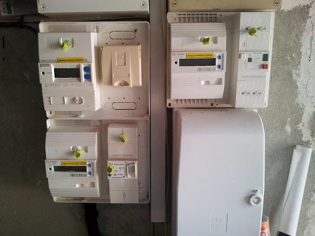 Photovolta que installation et bilan au bout d 39 un an pr sentation d - Compteur de production photovoltaique ...