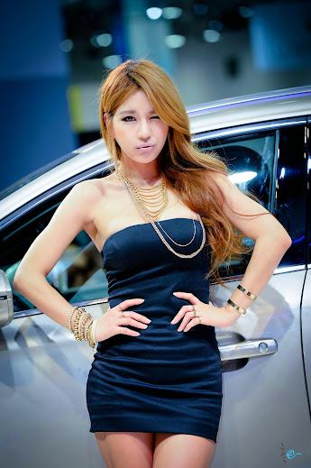 Park Si Hyun Busan Motor Show 2014 - Korean Beautiful Girls - Beautiful Girls Around World