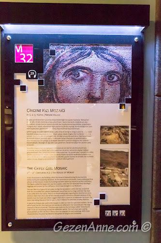 Çingene Kızı mozaiğinin tanıtımı, Gaziantep