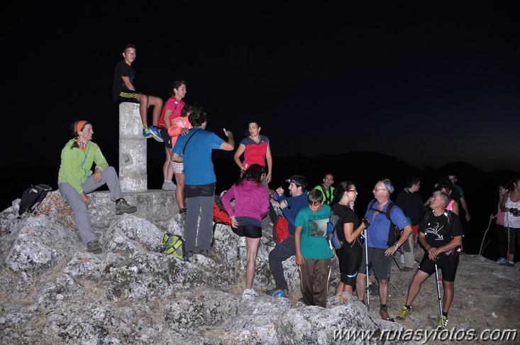 Nocturna al Lagarín y Grajas
