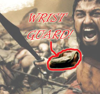 Warriors Wear Wrist Guards