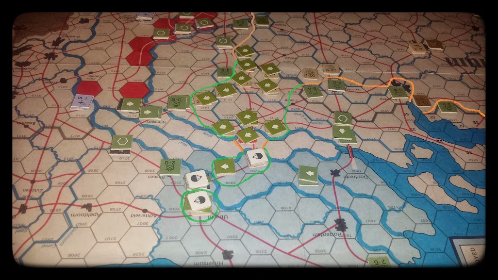 Road to the Rhine - 5th impulse - The paratroopers land.