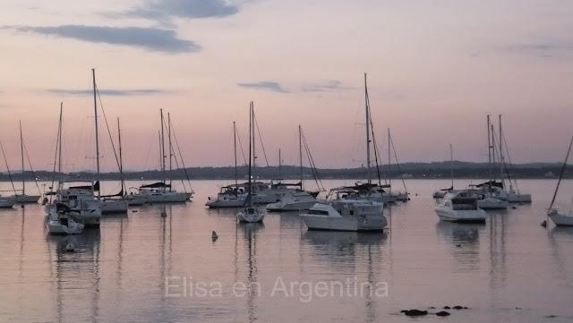 Atardecer, Puerto de Punta del Este, Uruguay, Elisa N, Blog de Viajes, Lifestyle, Travel