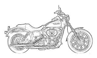 Harley Davidson Sketch