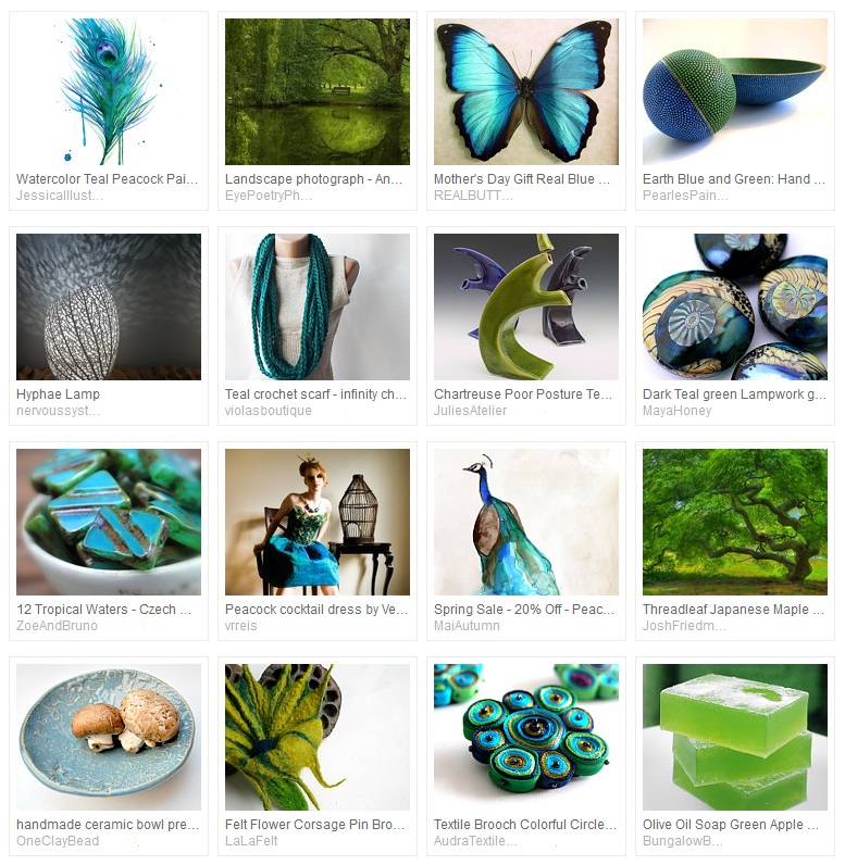 Perfect Peacock Treasury