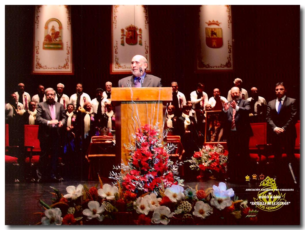 Proclama a los Personajes D. José Román Castro, Presidente