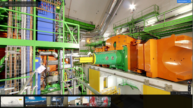 Google StreetView CERN