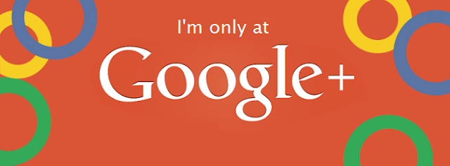 I'm only at Google+