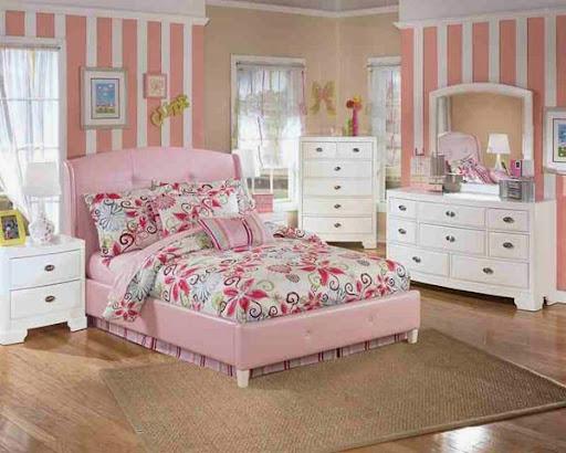 Những mẫu giường ngủ độc đáo cho cô nàng yêu màu hồng-1