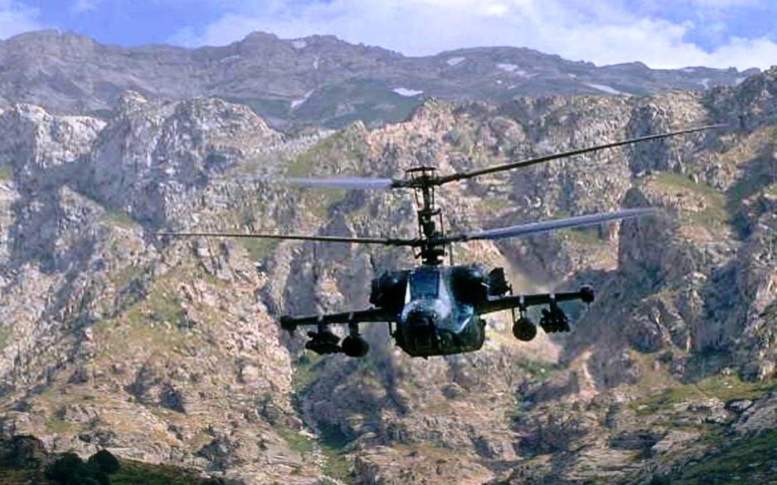 Kamov Ka-50 Black Shark Helicopter Wallpaper 4