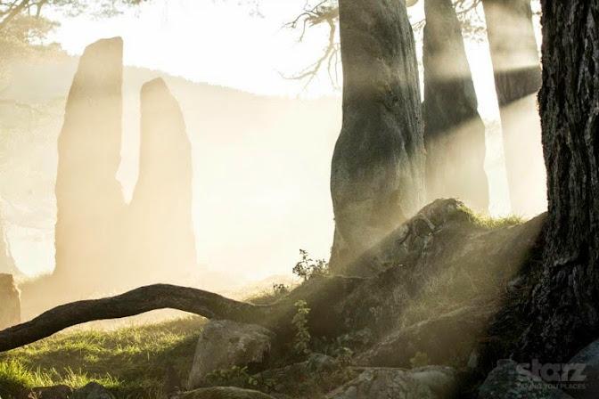 Starz Outlander Series Craigh na Dun