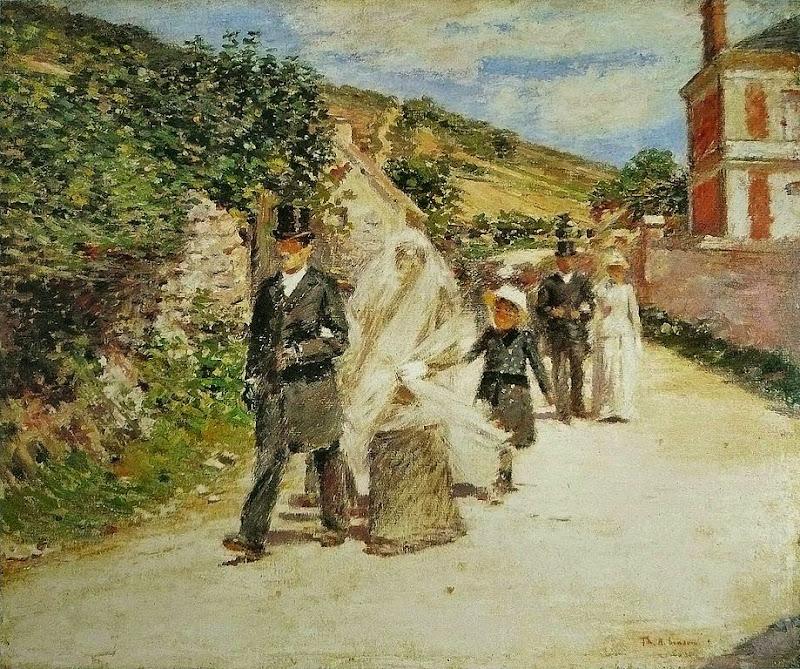 Theodore Robinson - The Wedding March, (1892)