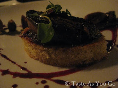 Foie Gras PB&J at Moshulu in Philadelphia, PA - Photo by Michelle Judd of Taste As You Go