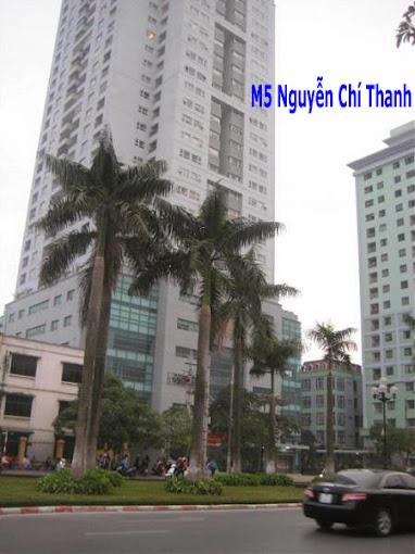 Chung cư M5 phố Nguyễn Chí Thanh, Ba Đình