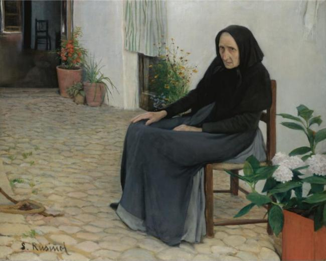 Santiago Rusiñol - L'Àvia (The Grandmother)