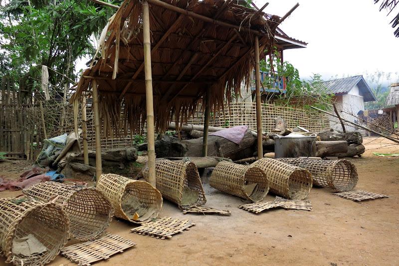 Chicken coop baskets