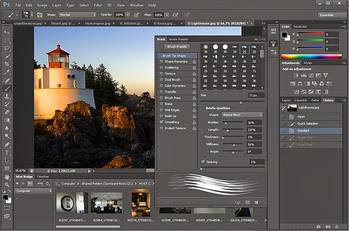 Screenshot of Adobe Photoshop CS6 v.13.0.1 Extended Final Full Multimedia PC Software Free Download at Alldownloads4u.Com