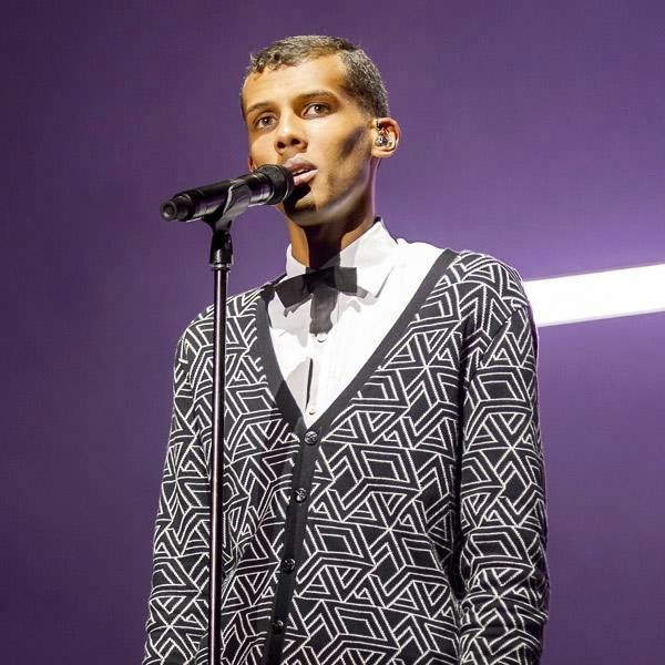 Belgian singer Stromae performs at the 39th Paleo Festival Nyon on July 23, 2014 in Nyon.