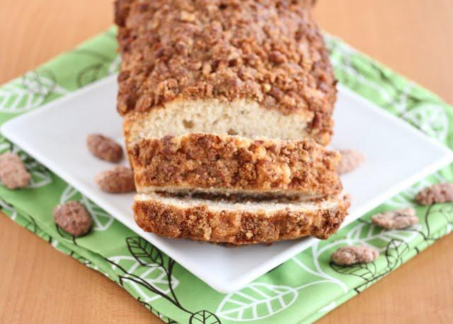 Cinnamon Pecan Ice Cream Bread