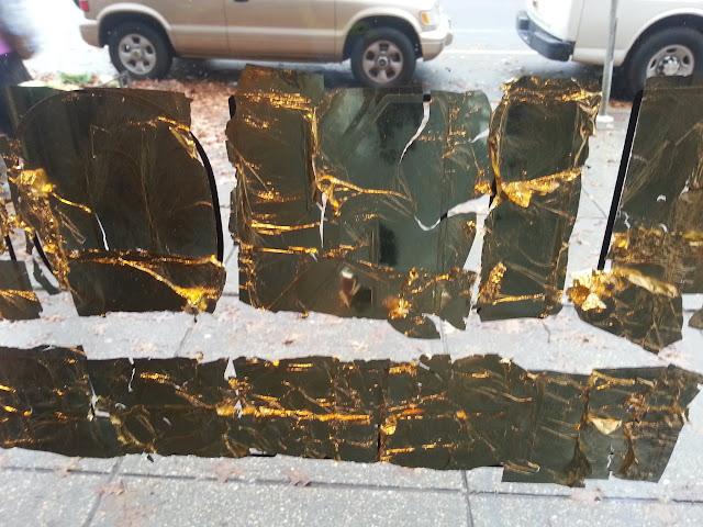 glass gilding - shinola washington dc