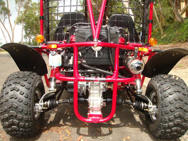 250cc GK Kandi Rocketa Shaft Drive Independent rear suspension IRS Offroad Dune Buggy Go Cart