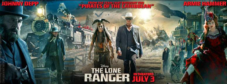 Entertainment News: Disney/Jerry Bruckheimer Films: The Lone Ranger July 3, 2013 #LoneRanger