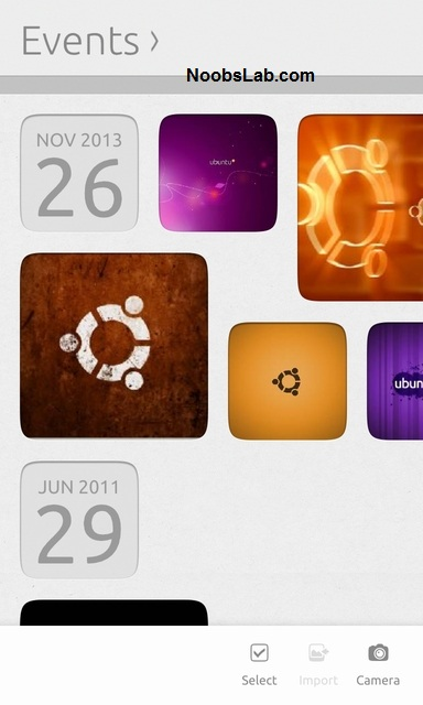 Ubuntu Touch gallery