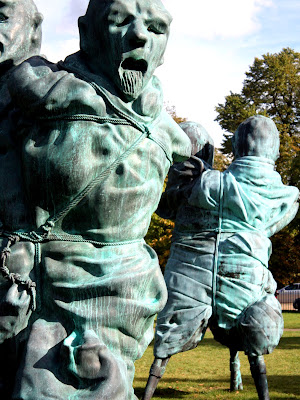 Sculptures in Hyde Park
