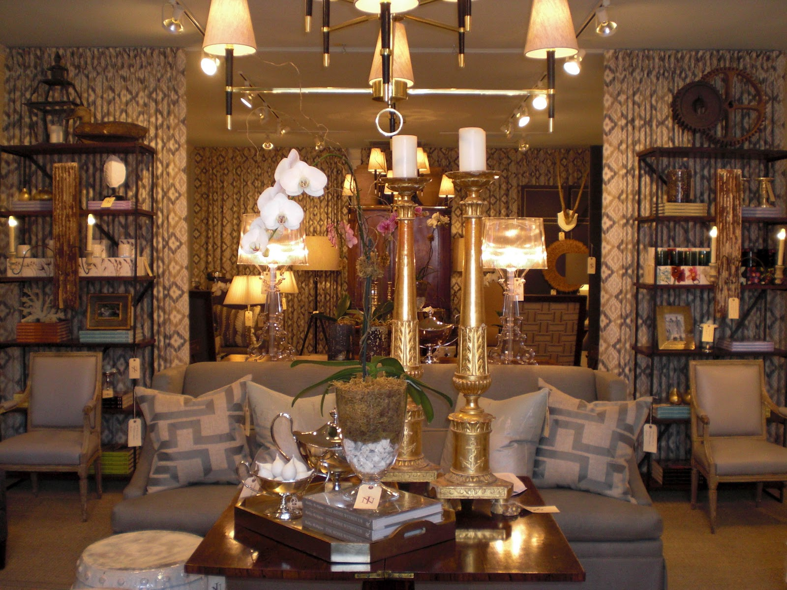 Charlestonu0027s Niche Interiors Carries A Range Of Upholstery, Antiques,  Lighting, Original Art And Smalls.