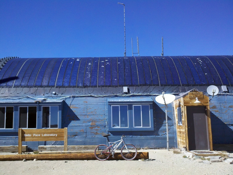 White Mountain Peak • Barcroft Station