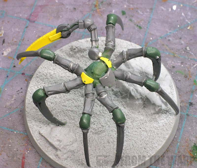 Sarpedon conversion spider legs