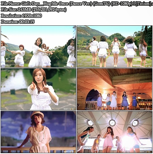 Download MV Girl's Day - Hug Me Once (Dance Version) (GomTV Full HD 1080p)