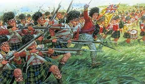 Униформа шотландцев