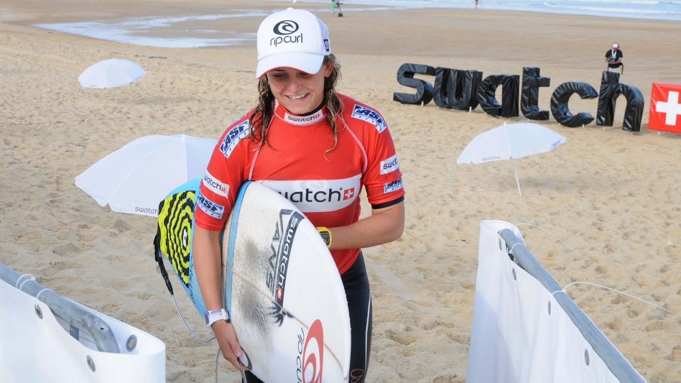 Swatch Free4Style 2013 Best of Music + Surfer Pauline Ado