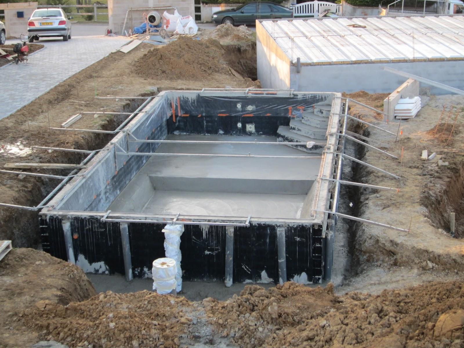 Ballylough construction for Piscine beton coule