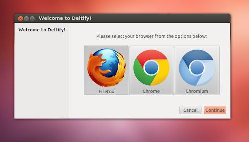 Deltify su Ubuntu