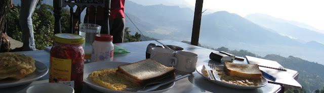 Soft Trekker Breakfast with Most Amazing View