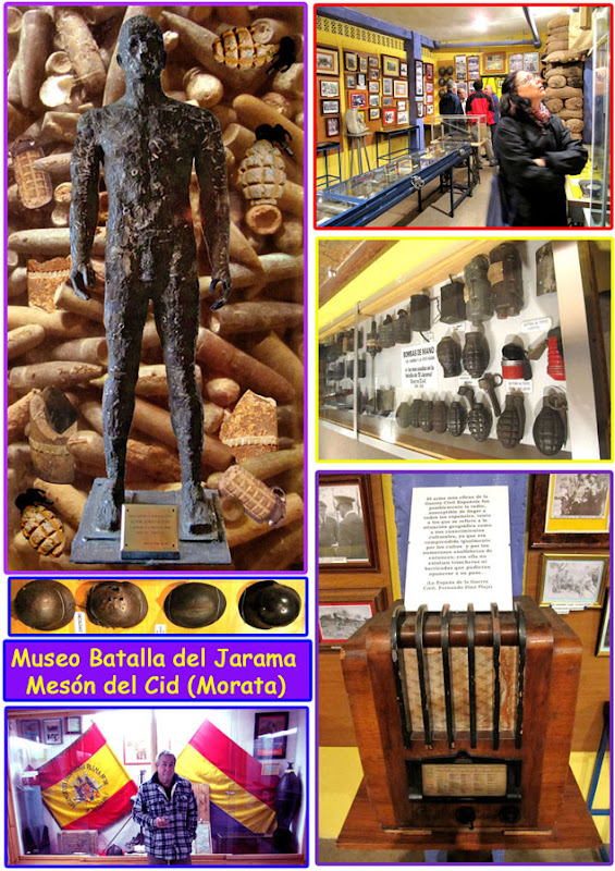 Museo Batalla del Jarama. Mesón del Cid.
