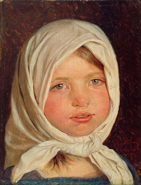 Peder Severin Krøyer - Little girl from Hornbæk - Google Art Project