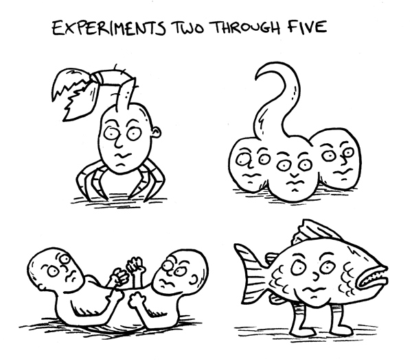 Experiments Two Through Five