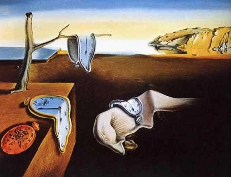 La persistencia de la memoria de Dali
