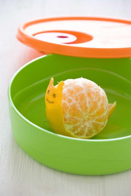 caracol de mandarina