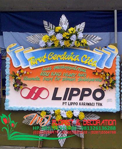 turut berdukacita dari LIPPO BANK