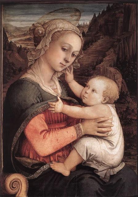 Filippino Lippi - Madonna and Child