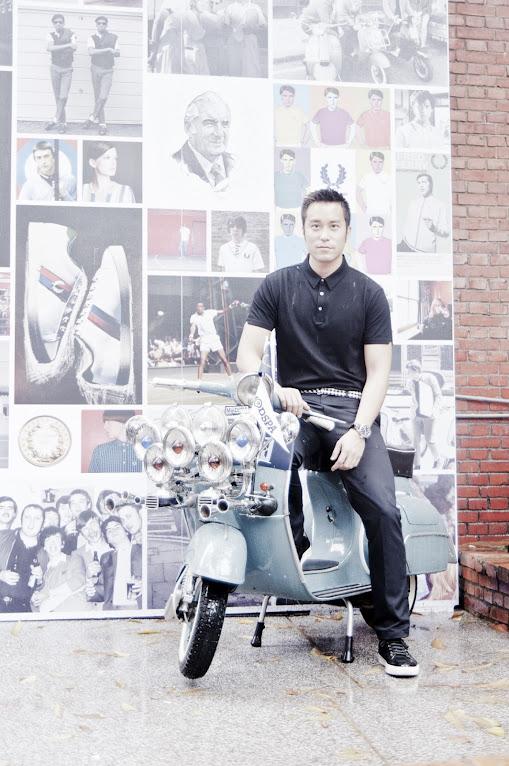 *張孝全化身為摩德機車族:現身經典英倫品牌Fred Perry台灣首次發表會! 5
