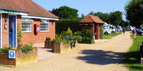 Chichester Camping and Caravanning Club Site at Chichester Camping and Caravanning Club Site