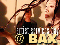 Artist Services Day @ BAX
